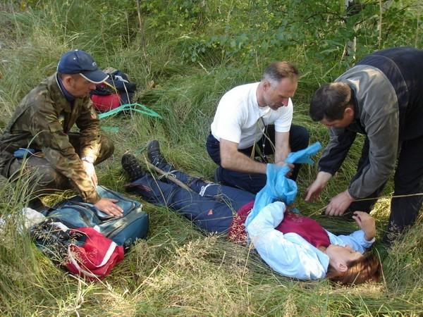 оказание первой помощи пострадавшему в условиях автономного выживания