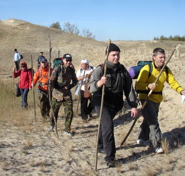 движение группы по маршруту во время автономки