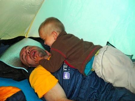 походы с детьми в Карпатах