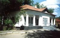 Дом-музей писателя Антона Павловича Чехова в городе Сумы на Украине