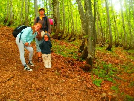 пешие походы с детьми в Карпатах