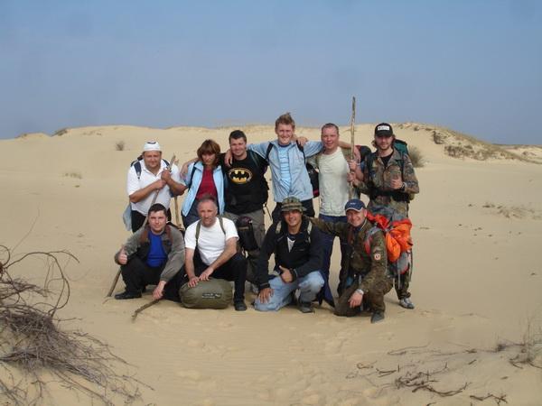 автономное выживание в условиях пустыни